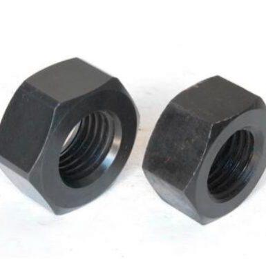 Τυποποιημένο μαύρο οξείδιο εξάγωνου καρυδιού ASME