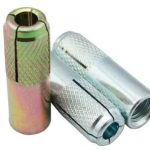Carbon Steel Galvanized Knurled Drop in Anchor M6 to M20