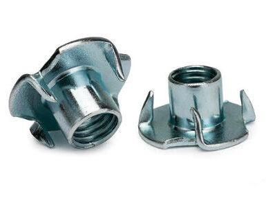 DIN1624 ψευδάργυρος από χάλυβα άνθρακα με τέσσερα νύχια
