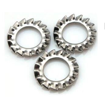Πλυντήριο εξωτερικών κλειδαριών δοντιών M6 έως M20