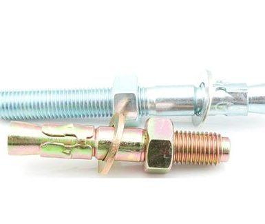 Άγκυρες σφήνας γαλβανισμένου χάλυβα M6 έως M20