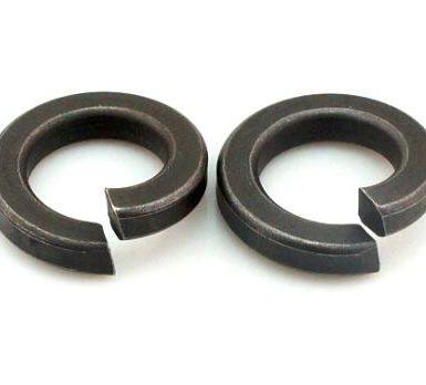 Ροδέλα απλού ελατηρίου μαύρου οξειδίου DIN127 DIN128