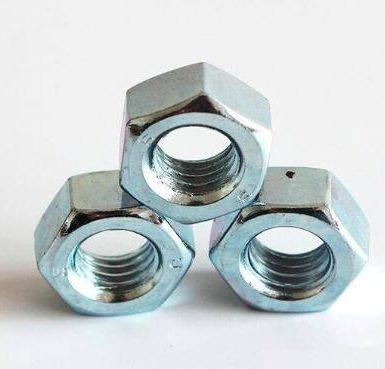 A563 Gr Ένα ψευδάργυρο εξάγωνο παξιμάδι DIN934